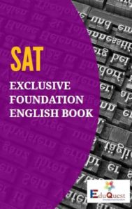 SAT Exclusive Foundation English Book