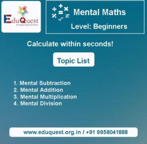 Mental-Maths-Beginners