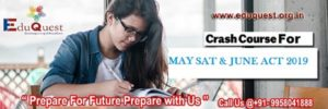 Crash Course for SAT ACT