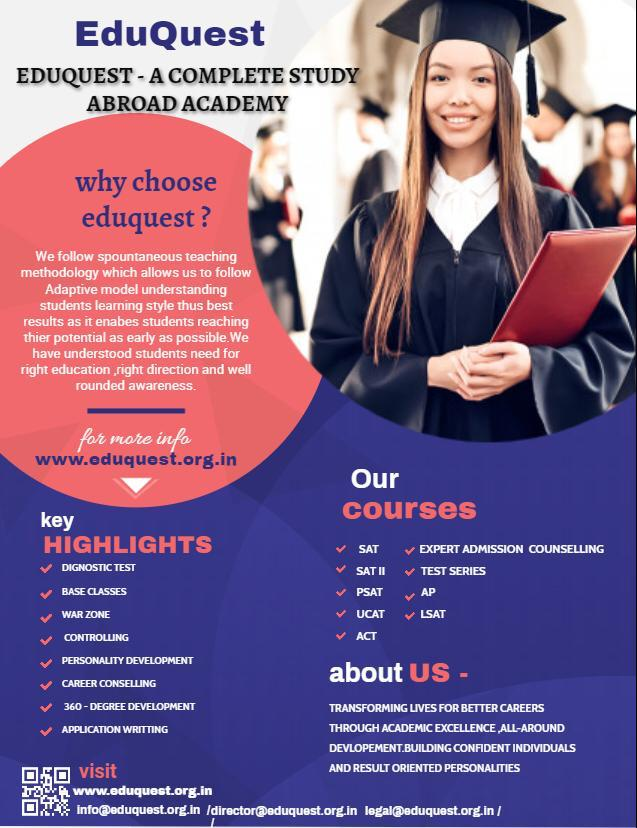 Eduquest - A Complete Study Abroad Academy