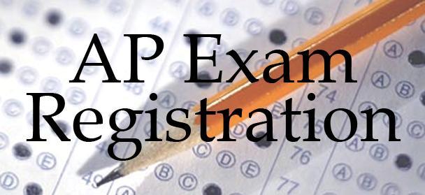 AP Registration for AP exams