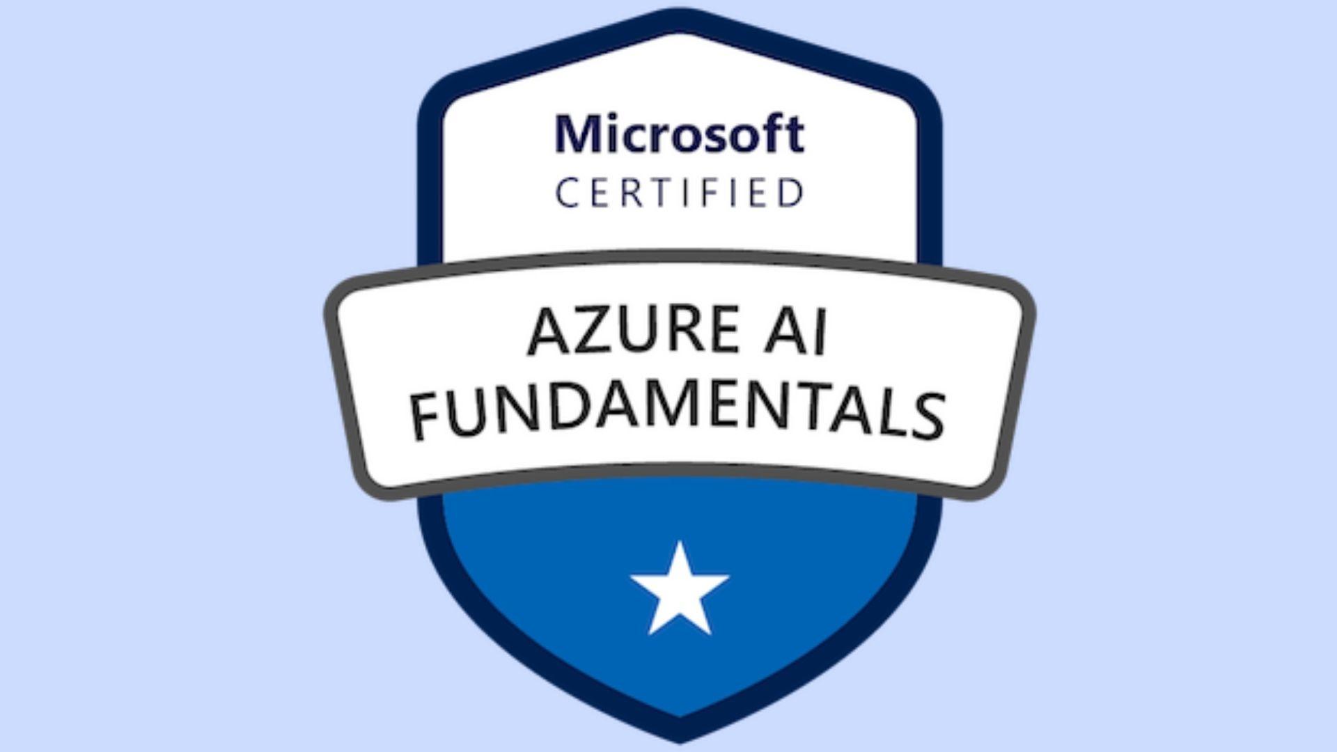 _Azure AI Fundamentals